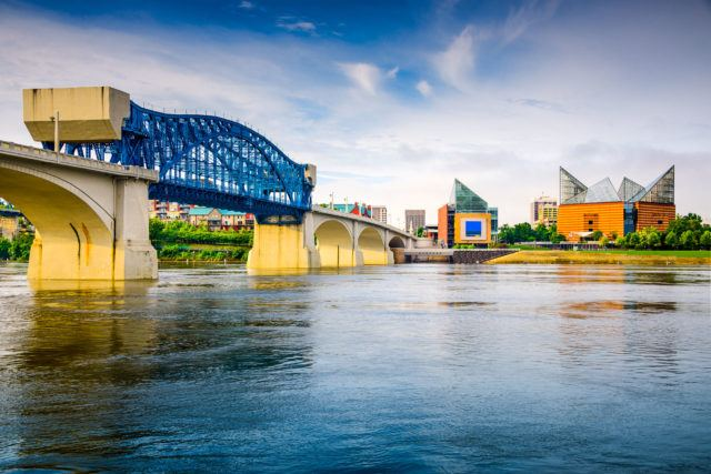 The creatives at our Chattanooga spa welcome the return of the 4 Bridges Arts Festival